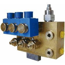 Four-stage Pressure Relief Valve - electrically controlled